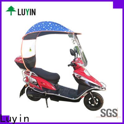 Luyin New bike rain umbrella manufacturers for sunshade