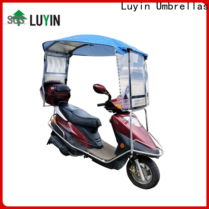 Luyin bike canopy factory for sunshade