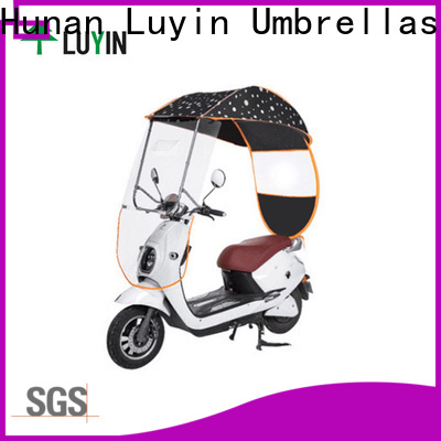 Custom bicycle rain umbrella manufacturers for E-Bike
