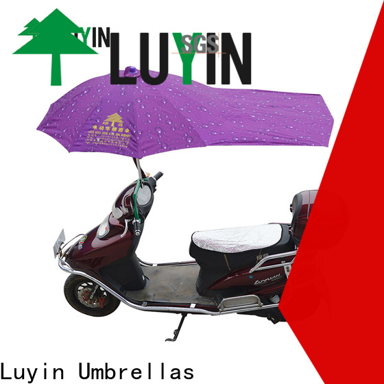 Luyin Top scooter umbrella holder manufacturers for rain protection