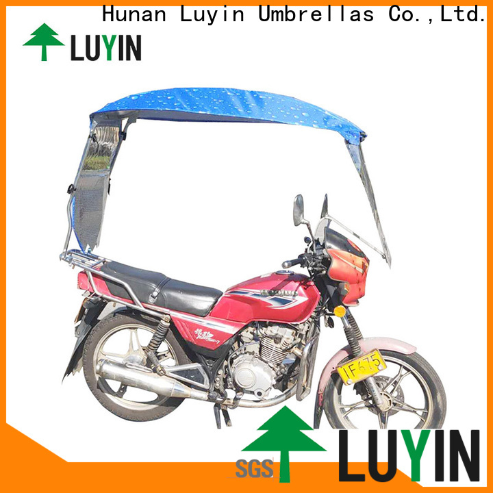 Luyin Best moto umbrella for business for motorcycles